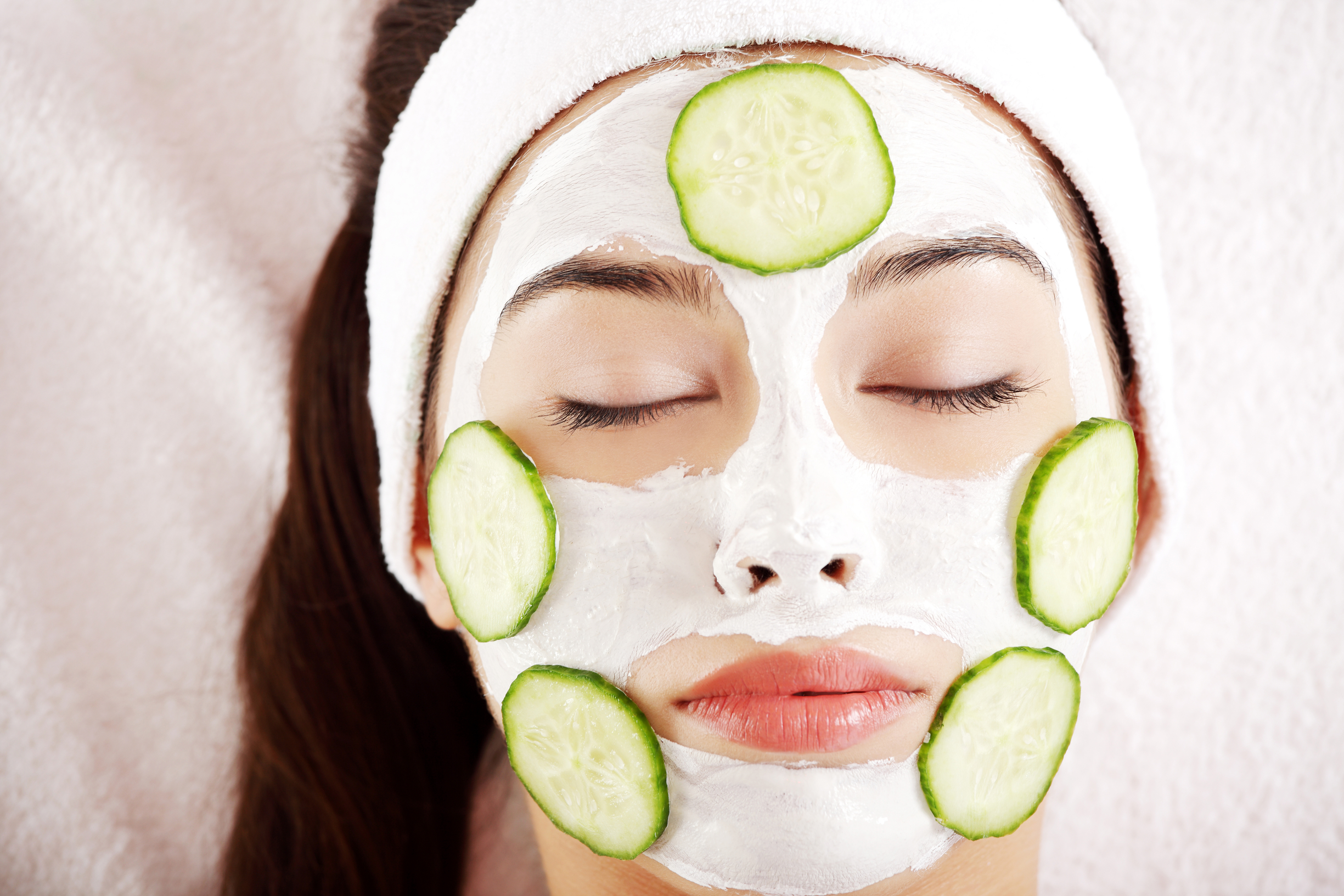 Как сделать огуречную маску фото 138