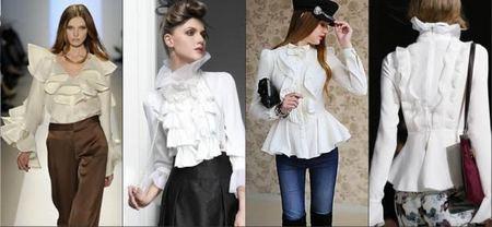 6c8f2532aac Сезон 2015-2016 ознаменовался обилием вариаций модных женских блузок.