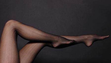 Ноги в колготках foto